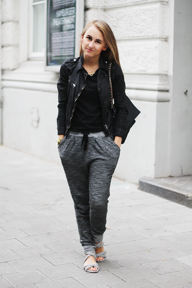 Outfit / Casual in grey