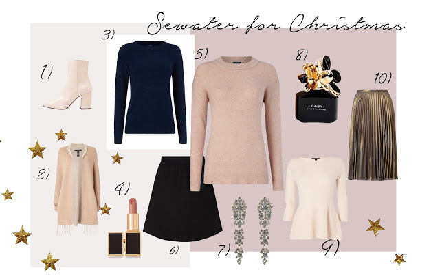 SHOPPING / CHRISTMAS IN PINK AND GOLD