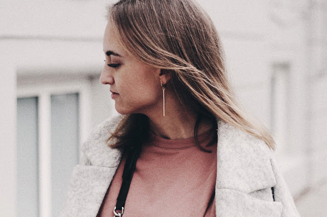 OUTFIT / PINK BIG SWEATER